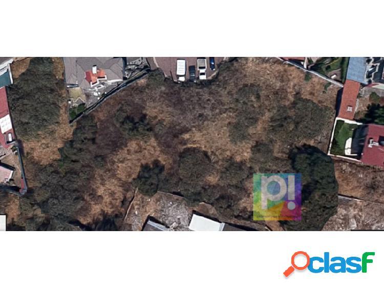 TERRENO EN COLINAS DEL BOSQUE, TLALPAN TER_232 JA, Colinas del Bosque