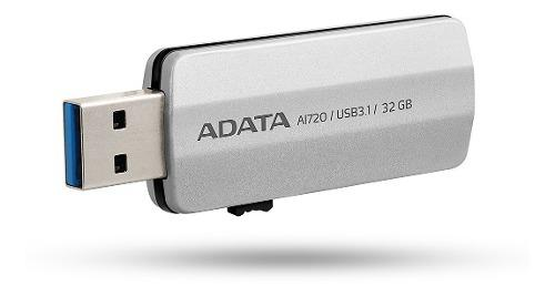 Adata memorias usb 32gb ai720 archivos iphone ipad ipod
