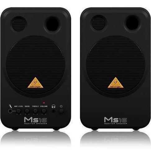Behringer multimedia ms16 monitor de estudio casero 16w 4 pg