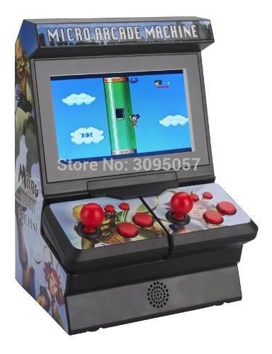 Consola portatil 2 players n8 oem software 300 juegos