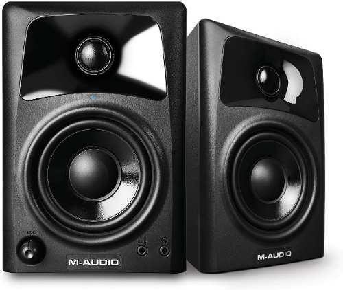 M-audio studiophile av-42 monitores d estudio dj profesional