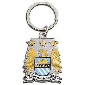 Manchester city logo llavero premier uefa champions league