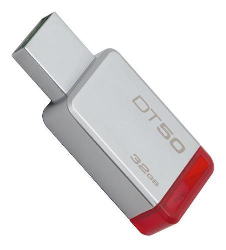 Memorias usb 3.0 32gb kingston dt50 alta velocidad oferta pc