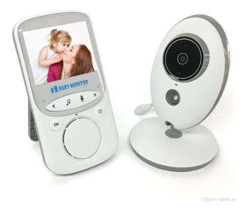 Monitor bebe audio y video vision nocturna temp ambiente