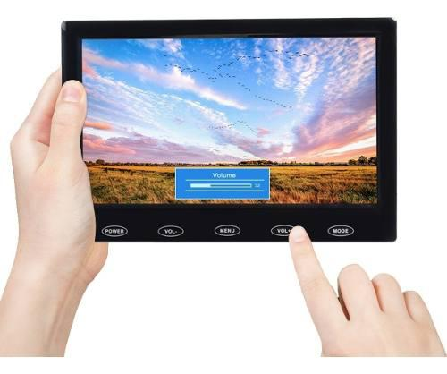 Monitor de video toguard 7 pulgadas1024x600 av/vga/hdmi