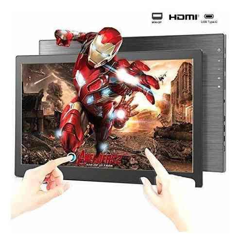 Monitor portable bosstouch touchscreen para pc/videojuegos