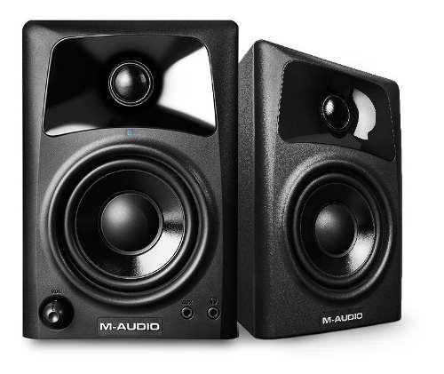 Monitores de estudio m-audio av42 bocinas activas
