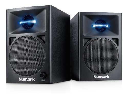Numark n-wave 360 par de monitores amplificados dj o estudio