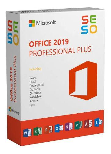 Office 2019 pro plus licencia 365 - 5 pc - mac - ipad - 2016