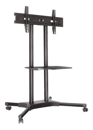 Soporte base stand piso tv 32 40 49 55 60 65p rodable envió