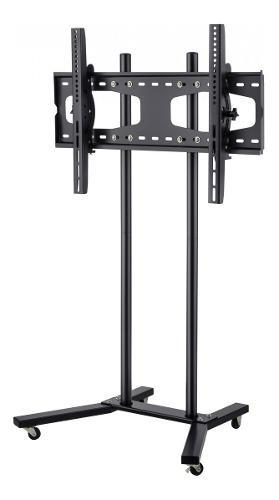 Soporte tv movil de piso con ruedas 19-60 stv-150 steren