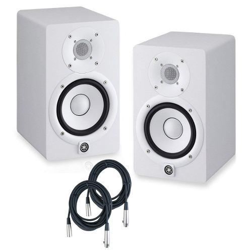 Yamaha monitores estudio hs5 blancos