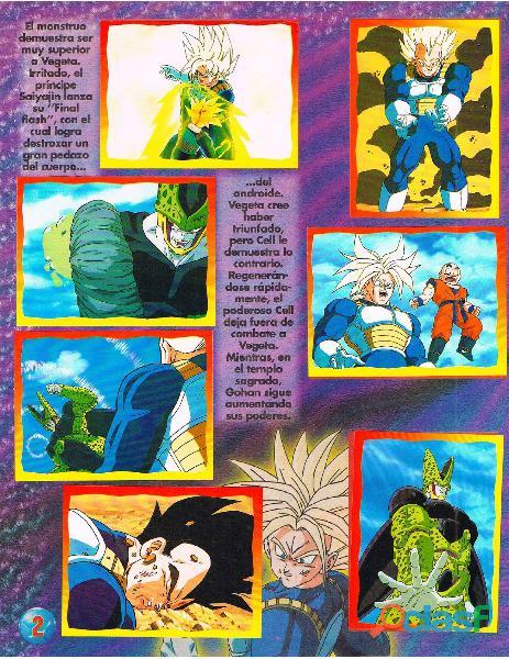 Albumes Digital Dragon Ball Z en PDF 3