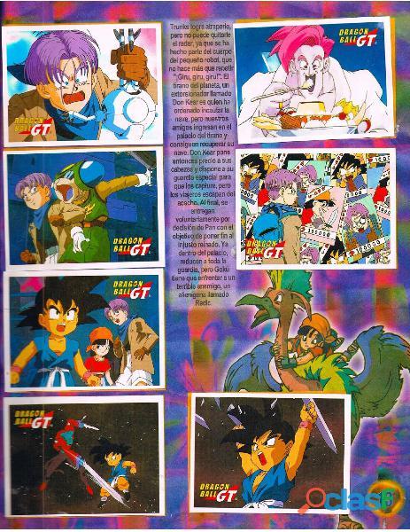 Albumes Digital Dragon Ball Z en PDF 7