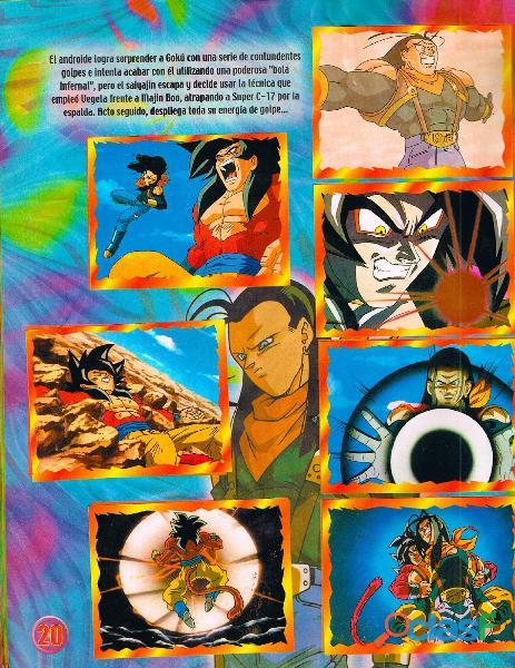 Albumes Digital Dragon Ball Z en PDF 8