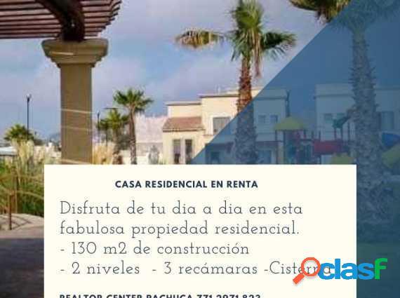 Casa residencial en renta provenza pachuca