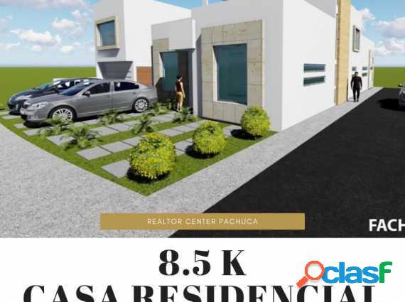 Casa residencial premium zona plateada pachuca