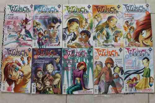 7 revistas witch disney comics varios números