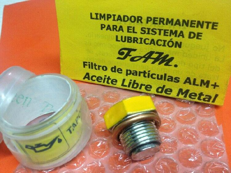 Aceite limpio tapón cárter magnético ¡equipa tu motor!