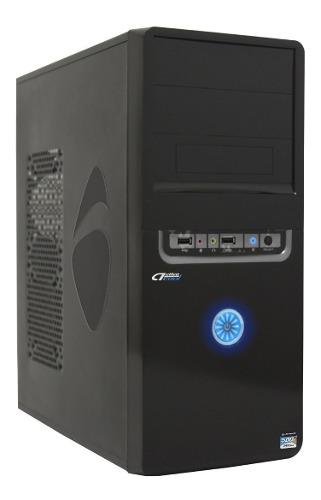 Acteck gabinete dassel atx fuente 500w wkgp-002 negro /v /v