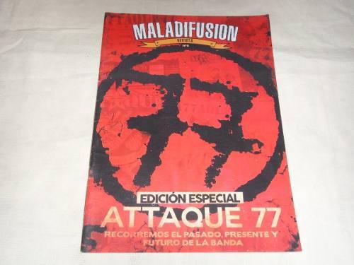 Attaque 77 revista argentina mala difusión especial a77aque