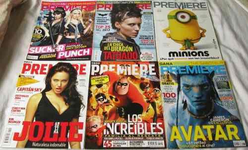 Cine premiere, más de 40 revistas
