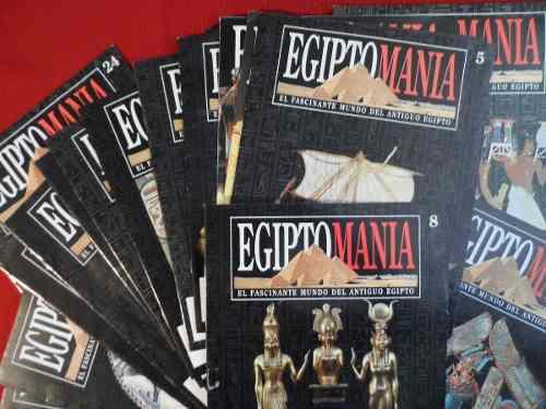 Colección egiptomania fasciculos completos revista egipto