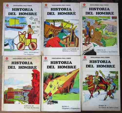 Historia del hombre fasciculos 26 numeros 40.00 c/u
