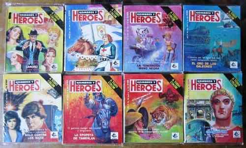 Hombres y heroes 79 numeros 80´s primera epoca 30.00 c/u