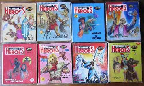 Hombres y heroes primera epoca 80 numeros 30.00 c/u
