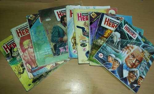 Hombres y héroes lote de revistas