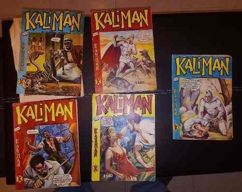 Kaliman comics varios números 70s