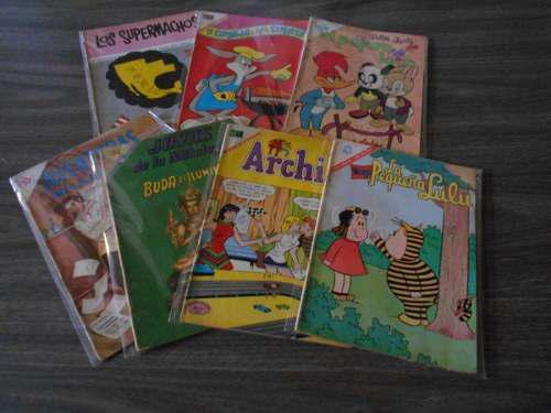 Lote de historietas clásicas. novaro. años 60.