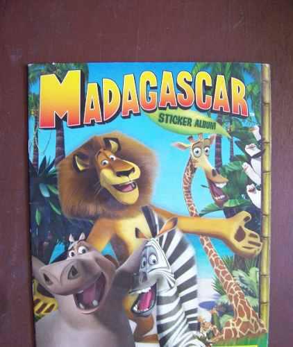 Madagascar album panini de stickers