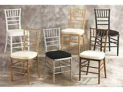 Renta de sillas tiffany en coyoacan - sillas tiffany en