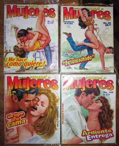 Revista semanal de mujeres 7 revistas 25.00 c/u