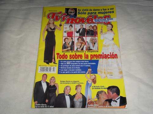 Revista tv y novelas especial premios 1998 thalia lucero
