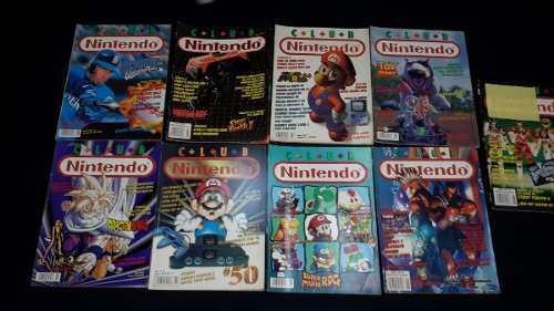 Revistas club nintendo 90's lote varias de los años 4 y 5