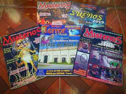 Revistas misterios