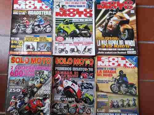 Solo moto revistas motociclismo 1992