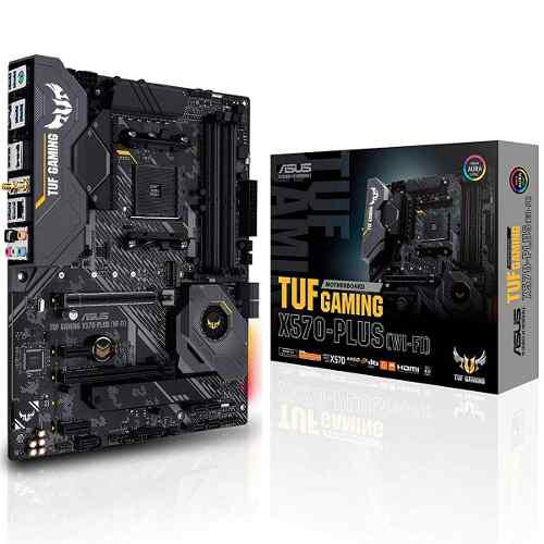 Tarjeta madre asus tuf gaming x570-plus wifi socket am4 ddr4