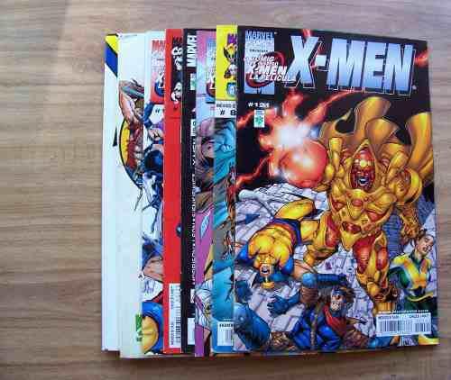 X-men-lote de 11 comics-color-reseña de num-marvel vid