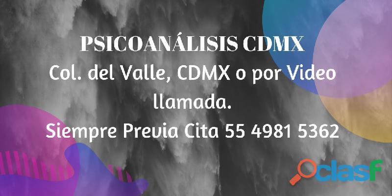 Psicoanálisis cdmx
