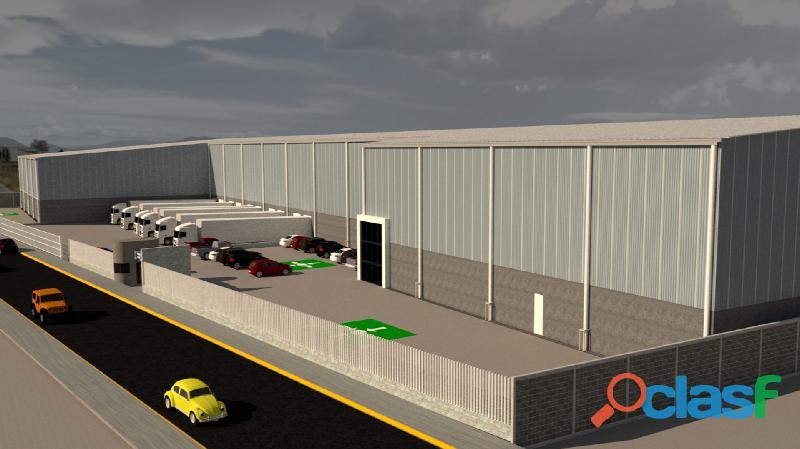 Renta de bodega industrial de 9,398 m2 en toluca