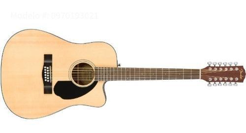 Guitarra fender docerola electroacustica cd60sce