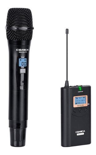 Micrófono inalámbrico comica wm100h con receptor
