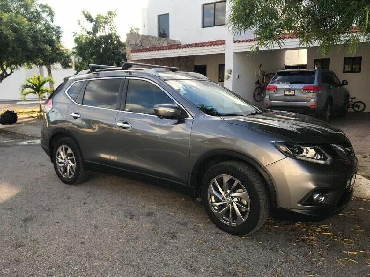 Nissan xtrail exclusive 3 row 2017