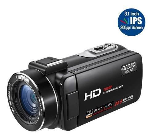 Ordro Z20 1080p Videocámara Full Hd Cámara De Vídeo
