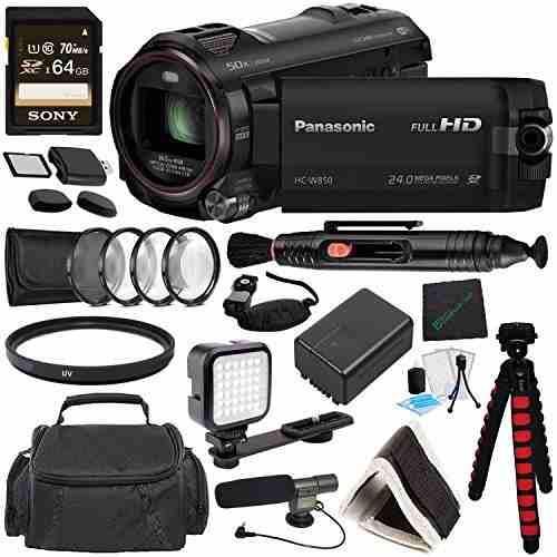 Panasonic hc-w850 twin camera videocámara full hd mfr # hc-