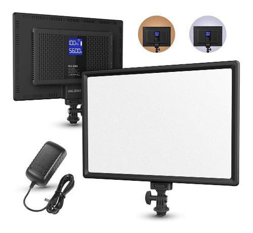 Raleno - luz led de vídeo, cámara, videocámara, panel de